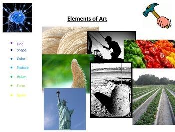 Elements of Art (PowerPoint Presentation)