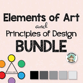 Elements of Art Principles of Design BUNDLE