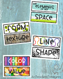 Elements of Art & Principles of Design Posters
