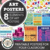 Elements of Art Poster Packet: 8 Modern Posters for your B