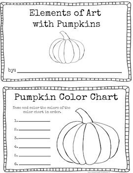 Pumpkin Art Craftivity