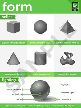 Elements of Art (Reference Graphics - Screen Resolution)