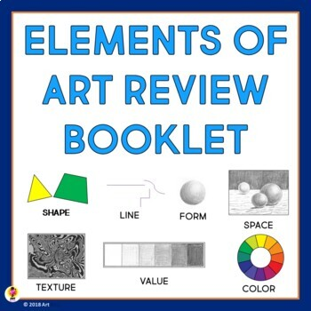 Elements of Art Review Booklet