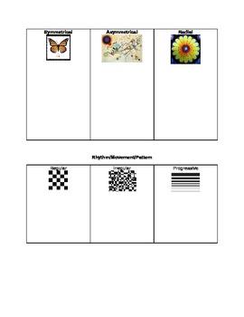 Elements of Art Scavenger Hunt