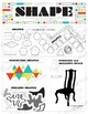 Elements of Art-Shape: Elementary, Middle, or High School