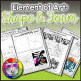 Elements of Art: Shape and Form, Art Lessons