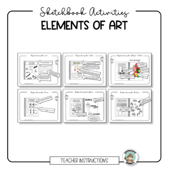 Elements of Art Sketchbook Activities