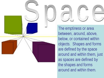 Elements of Art - Space PowerPoint