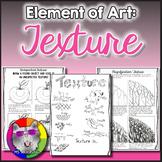 Elements of Art: Texture, Art Lessons