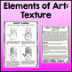 Elements of Art: Texture, Art Lessons
