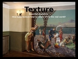 Elements of Art: Texture Mini-Lesson Powerpoint