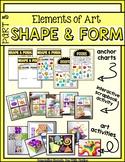 Elements of Art PART 3: Shape & Form