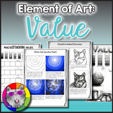 Elements of Art: Value, Art Lessons