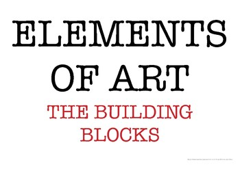 Elements of Art - Wall Posters
