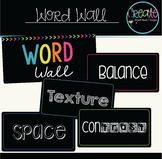 Art Word Wall