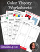 Elements of Art Worksheet & Poster Packet + Instructional Sheets & Mini-lessons