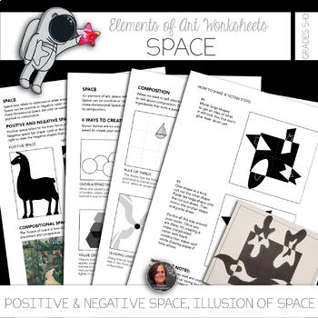 Elements of Art Worksheet Packet + Instructional Sheets and Mini-lessons