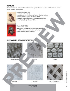 Elements of art and principles of design worksheet answers