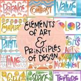Elements of Art and Principles of Design Bundle