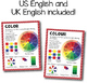 """Elements of Art and Principles of Design Poster Bundle (8.5""""x11"""" and 18""""x24"""")"""