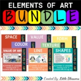 Elements of Art and Social Emotional Lessons Bundle