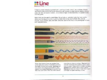 Elements of Art part 1:Line, Shape, Color, Value PPT