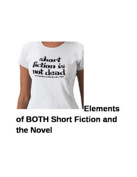 Short Fiction/the Novel Matching Terms Quiz