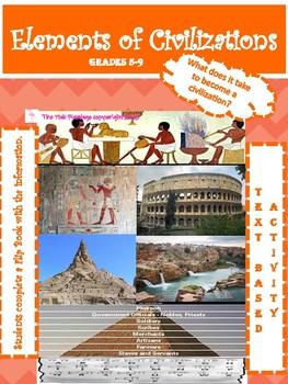 Understanding the Elements of Civilizations Flip Book