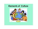 Elements of Culture Posters
