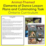 Elements of Dance Lessons and Culminating Task - animal-th