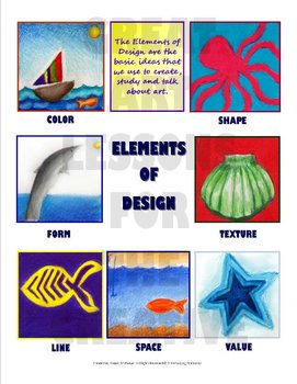 Elements of Design Basics Poster