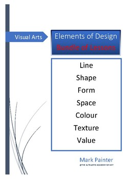 Elements of Design: Bundle of Lessons
