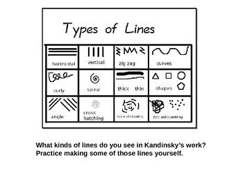 Elements of Design: Line as Emotion Lesson
