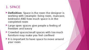 Elements of Design PowerPoint for Interior Design