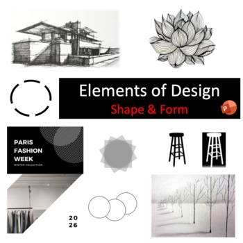 Elements Of Design Shape And Form By Miss B S Shop Tpt