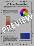 Elements of Design Student Booklet - Junior