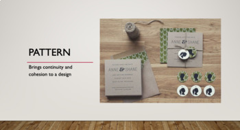 Elements of Design: Texture and Pattern