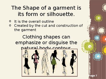 Elements Of Design In Fashion By The Fcs Shoppe Tpt