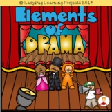 Elements of Drama  - 12 Anchor Charts {Ladybug Learning Projects}