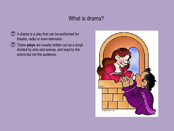 Elements of Drama PowerPoint