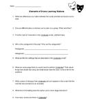 Elements of Drama Answer Sheet