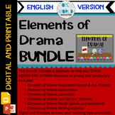 Elements of Drama: BUNDLE Digital and Printable (English Version)