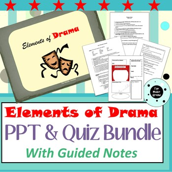 Elements of Drama - Drama Terms Bundle