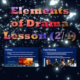 Elements of Drama Lesson (2/4)