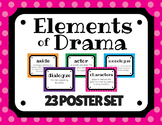 Elements of Drama 23 POSTER SET