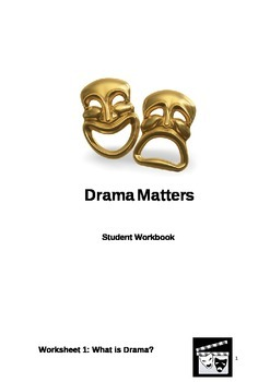 Elements of Drama Student Booklet- SAMPLE