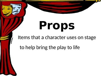 Elements of Drama Terminology PowerPoint