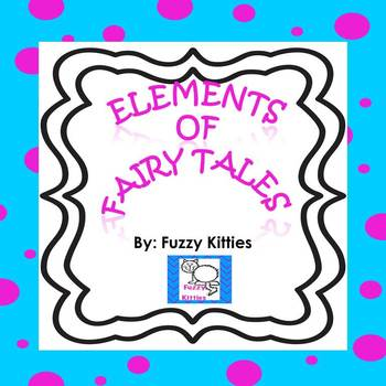 Elements of Fairy Tales FREEBIE!