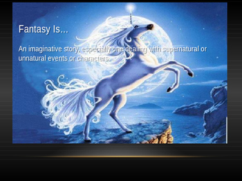 Elements of Fantasy Literature
