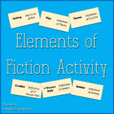 Elements of Fiction Activity